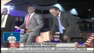 Jeff Koinange Live: 'Retired President Moi' teaches Jeff how to dance