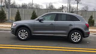 2016 Audi Q5 monsoon gray metallic