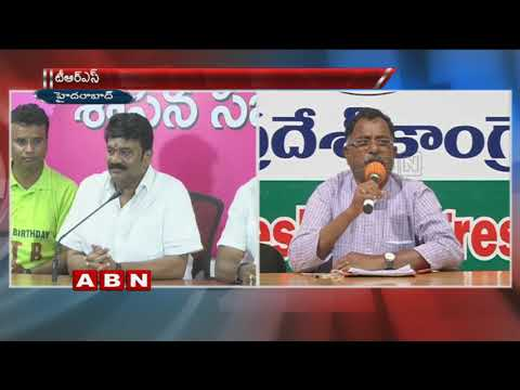 TPCC Leader Mallu Ravi Counter To TRS Ministers For Commenting Congress Party Is AP Party