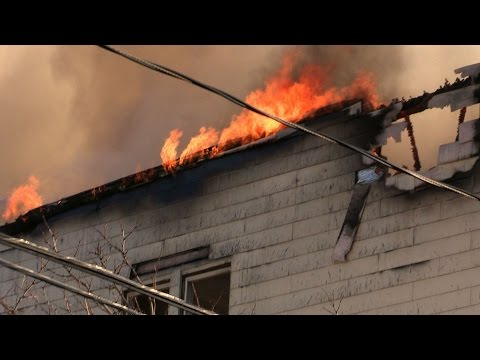 Newark NJ Fire Department 3rd Alarm Fire 212 Bergen St Video, Slideshow and Radio Transmissions