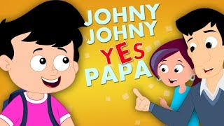 Johny Johny Yes Papa | Original Nursery Rhymes For Kids Part 1 Baby And Children Song | Kids Tv
