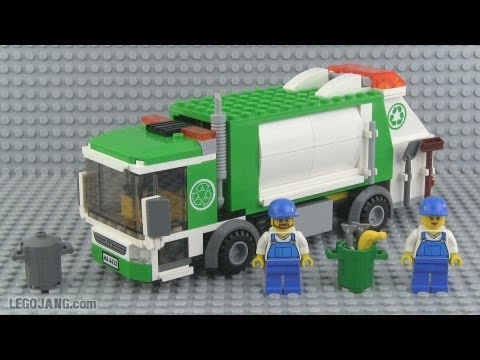 LEGO City Garbage Truck 4432 set review!