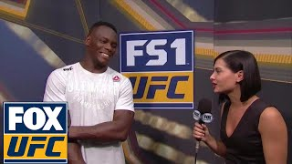 Ovince Saint Preux talked to Megan Olivi after his win in Japan | UFC FIGHT NIGHT