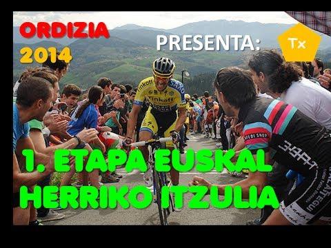 1. ETAPA EUSKAL HERRIKO ITZULIA / VUELTA AL PAIS VASCO 2014, ORDIZIA-ORDIZIA
