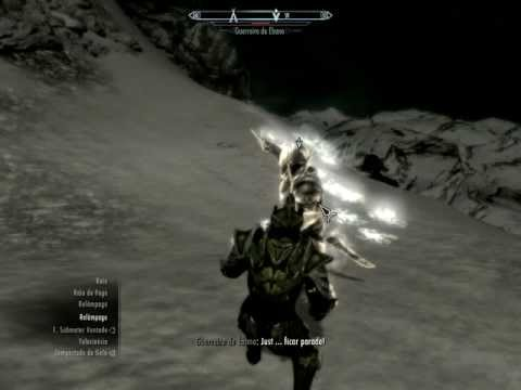 Skyrim, Matando o Ebony Warrior