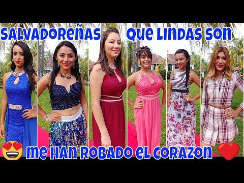 Belleza de las mujeres Salvadoreñas😍 WOW que derroche de hermosura en El Salvador 4K😍 Parte 2