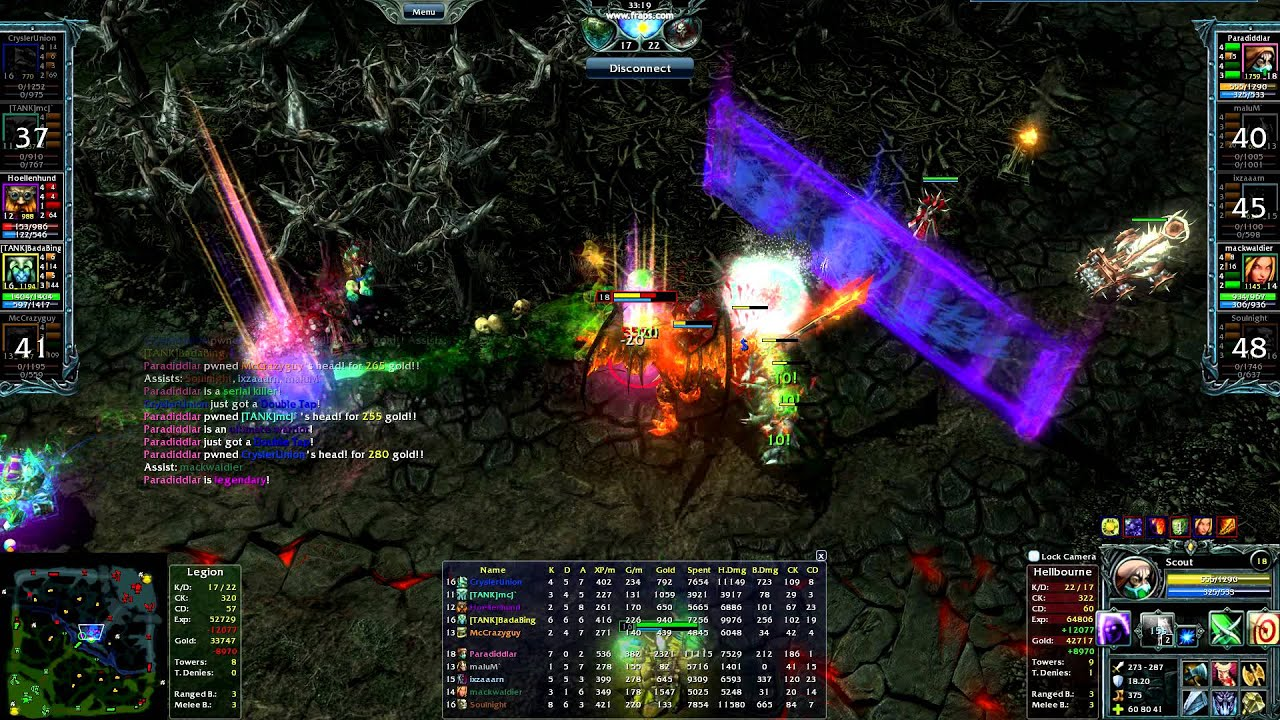 Heroes of Newerth Guide to All Heroes Heroes of Newerth Pro Scout