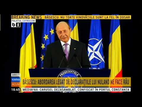 Declaratie de presa Traian Basescu - 3 octombrie 2014