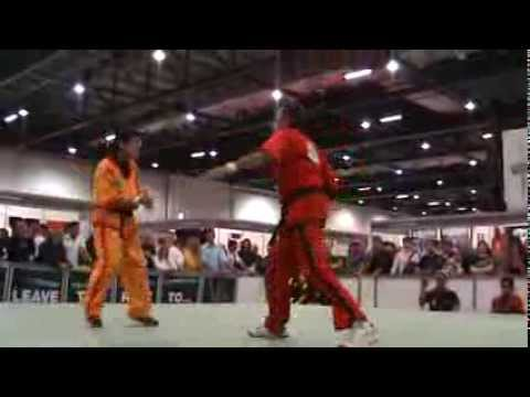 Grandmaster Danny Guba Doce Pares Eskrima Kali Arnis demonstration at The SENI 2010 - London EXCEL