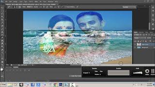Adobe photoshop cs6 Bangla tutorial-8: How to blend two photos together