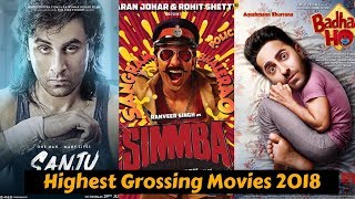 10 Highest Grossing Bollywood Movies of 2018 With Box Office Collection