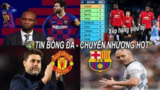 💥Tin bóng đá 09/02| Chờ MU Pochettino từ chối nhiều lời mời, Messi rời Barca vào cuối mùa?