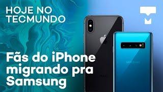 Fãs do iPhone migrando pra Samsung, GTA 6 no Brasil e Xiaomi Mi A3 – Hoje no TecMundo