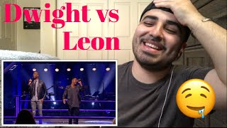 "Reaction to Dwight Dissels Vs Leon Sherman ""How come How Long"" The Voice Holland"