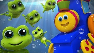 Bob The Train | Five Little Speckled Frogs | Nursery Rhymes | Baby Songs by Bob The Train