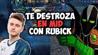 SI LE DEJAS RUBICK A MIRACLE TE DESTROZA EN MID!! | DOTA 2
