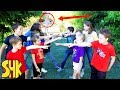 Kidz Squad Squabble! HeroForce Vs The White Hat Game Master Nerf Battle Royale!