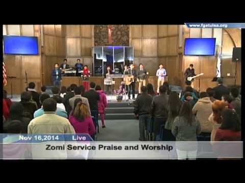 Nov 16,2014 Zomi Service Praise and Worship
