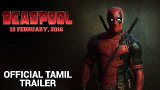 Deadpool | Official Tamil Trailer 2016 | Fox Star India