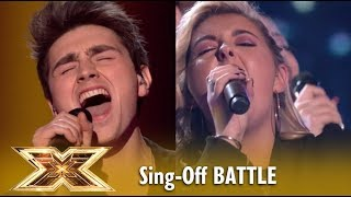 LMA Choir FIGHTS vs Rising STAR Brendan Murray in EPIC Sing-Off! Live Shows 2 | The X Factor UK 2018