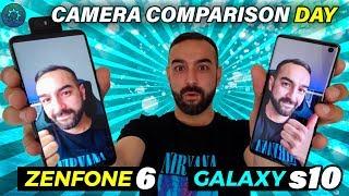 Asus Zenfone 6 Vs Galaxy S10 | Camera Comparison | Part 1. Day