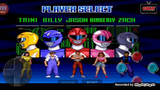power ranger snes gameplay on mobile