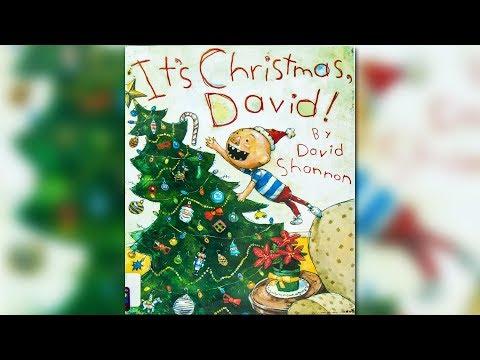 It's Christmas, David! By David Shannon | CHILDREN'S BOOK READ ALOUD