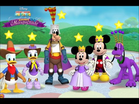Minnie's Masquerade Match up - Mickey Mouse Clubhouse Full Episodes Games