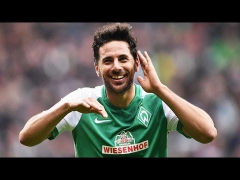 GOL de Claudio Pizarro | Werder Bremen 3-1 Wolfsburgo | #AlientoPeruano
