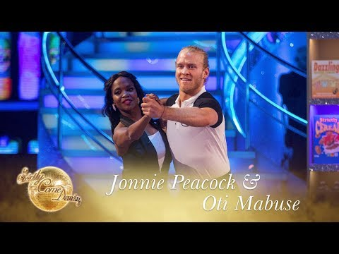 Jonnie and Oti Quickstep to PartTime Lover  Stevie Wonder  Strictly Come Dancing 2017
