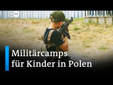 Krieg als Spiel: Militärcamps für Kinder in Polen   DW Nachrichten