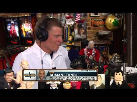 Bomani Jones on the Dan Patrick Show (Full Interview) 7/15/14