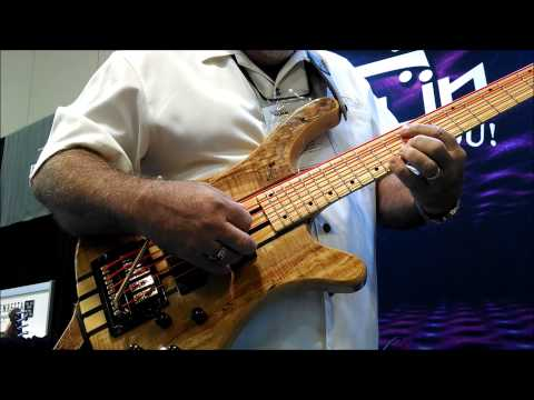 Rocklin Guitar LLC made it's debut at the Summer NAMM 2014 show in Nashville July 17-19. One morning before the doors opened I was noodling around with a col...