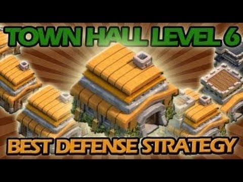 BEST Town Hall Level 6 Defense Strategy for Clash of Clans + Awesome Raiding Strategy!