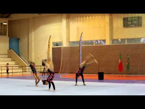 Acrobatic Gymnastics National Champ 2013 GCP WG Junior Balance
