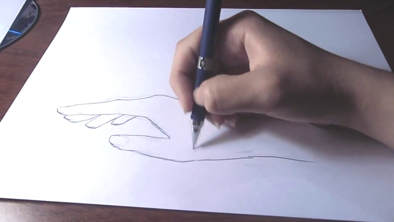 Relaxed Hand Drawing How Draw an Anime Hand Easy