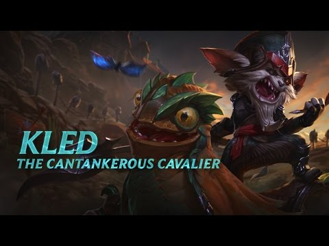 Kled Champion Spotlight | Gameplay - League Of Legends