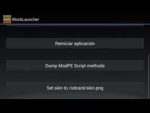 Minecraft PE 0.9.0 Como Instalar Mods Skins y Texturas con Block Launcher