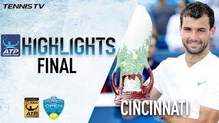 Highlights: Dimitrov Claims Maiden M1000 Title Cincinnati 2017