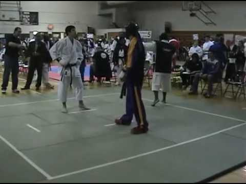 Shotokan Vs Freestyle video