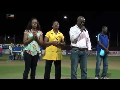 Opening Dutch Caribbean Women 35+ Softbal Tournament 2015 by miv.tv curaçao
