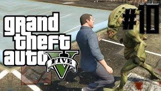 Grand Theft Auto 5 (GTA V) |LOS ALIENIGENAS ME ATACAN!!!| Capitulo10|