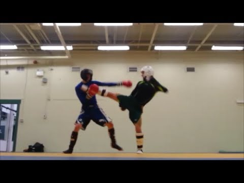 Kickboxing - Sparring Fight 2 - Lots of Kicks Image 1