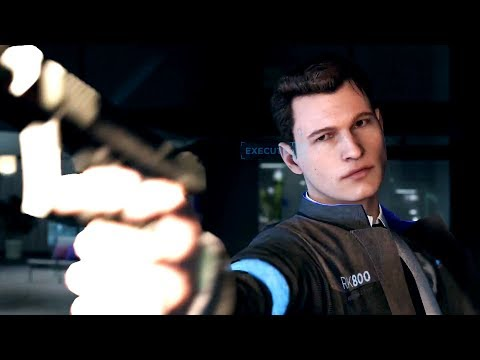 DETROIT BECOME HUMAN - Connor shoots Daniel, Emma is rescued (Gameplay Walkthrough, PS4 PRO)