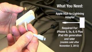 Download How to Connect Your iPhone or iPad to a Video Projector (Kerry Shearer) 3Gp Mp4