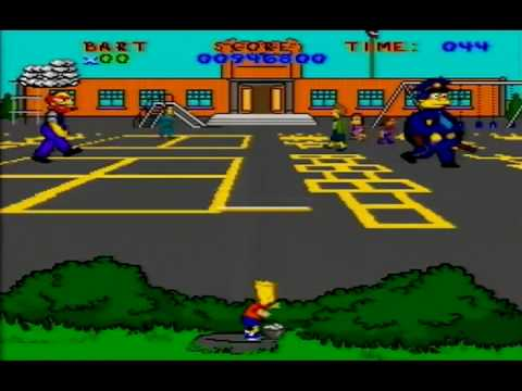 (Part 4) Virtual Bart (SNES) Sniper Bart (Tomato & Egg throwing)/ School ~ PEMNAS Playthrough Video