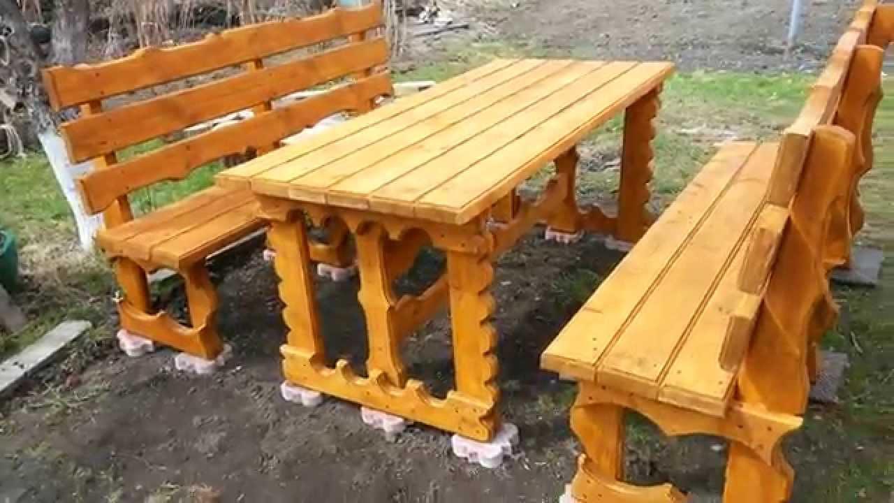 Садовая мебель своим и руками 904