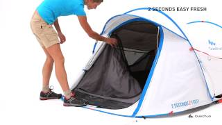 2 Seconds Easy 2 Fresh Tent 2 People - White