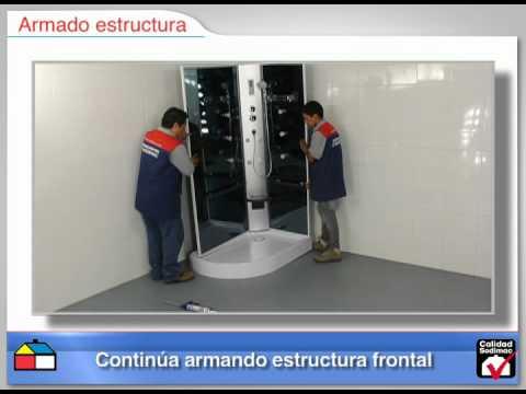 Instrucciones de armado cabina full hidro radio - Instalar mampara de ducha ...