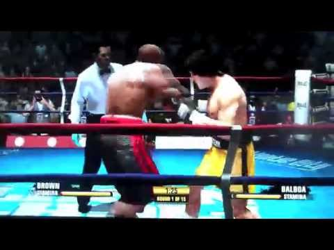 FIGHT NIGHT CHAMPION (GAMERBLOGTV vs ROCKY BALBOA)